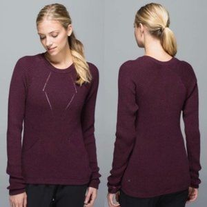Lululemon The Sweater The Better Crew Pullover